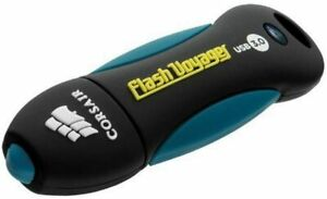 Corsair 64 GB USB 3.0 High Speed Flash Drive, Black & Blue