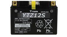 Batteria Moto YUASA YTZ12S Sigillata Ermetica Precaricata 12V 11,6Ah 210A