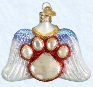 Old World Christmas Beloved Pet Glass Ornament 12478 Decoration FREE BOX New