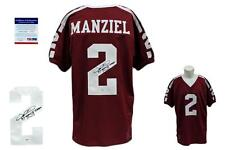 Johnny Manziel SIGNED Jersey - PSA/DNA - Texas A&M Autographed w/ Heisman '12