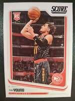 18-19 PANINI SCORE TRAE YOUNG ROOKIE CARD #673 RC NBA ATLANTA HAWKS BASKETBALL