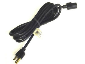 DELL 10A 125V 10FT AC BLACK POWER CORD 6878T 3X18AWG
