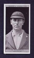 1926 Ogden's Cigarettes #48 E. Tyldesley Lancashire Cricket (A Series of 50) VG