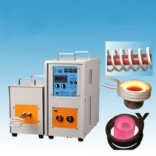 40 Kw 30-80 Khz High Frequency Induction Heater Furnace NEW HY-40AB