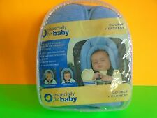 Especially For Baby Newborn Infant Blue Double Headrest Stroller Car New/Sealed