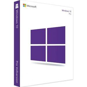 Microsoft Windows10 Pro 64 Bit deutsch - für einen PC