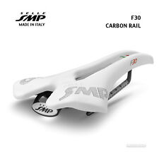 NEW 2020 Selle SMP F30 CARBON Rail Saddle SMP4BIKE Pro : WHITE - Made in Italy!