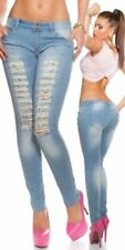 40-Normalgröße Damen-Jeans und/Fetzen Hosengröße