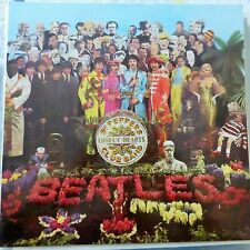 THE BEATLES LP SGT. PEPPER'S LONELY HEARTS CLUB BAND 1977 GERMANY REISSUE EX/EX