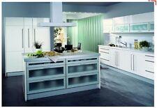 Große Einbauküche KOCHINSEL Musterküche Inselküche Privileg Geräte