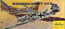 Heller 1:72 Messerschmitt Me-109 K WWII German Plastic Model Kit #074U