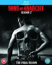 SONS OF ANARCHY SEASON SERIES 7 blu ray RB Seven New & Sealed