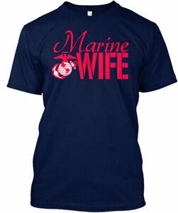 Marine Wife - Gildan Tee T-Shirt