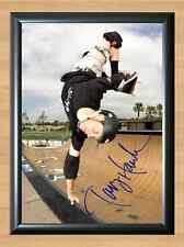 Tony Hawk Skateboard Skate Skater Hawks Signed Autographed A4 Print Photo Poster