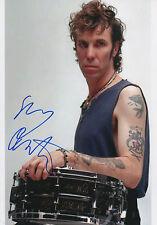 "Slim Jim Phantom ""STRAY CATS"" autographe signed 20x30 cm image"