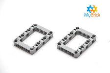 Lego Light Gray Technic, Liftarm 5 x 7 - 2 piece pack - 64179
