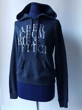 ABERCROMBIE & FITCH Women's Blue Hoodie Hooded Top Hoody - XS
