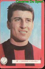 017 ANDRE CHORDA OGC.NICE FOOTBALL CARTE MIROIR SPRINT 1960's RARE