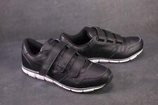 SB356 KangaROOS  Herren Sneaker Gr. 47 schwarz Sportschuhe Klettverschluss