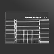 LP Vinyl Record Player Measuring Phono Tonearm VTA/Cartridge Azimuth Ruler Scale