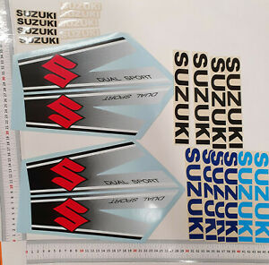 Motorrad Suzuki Aufkleber Set n22
