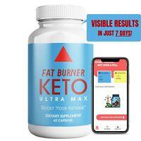 Keto Ultra Fat Burner for Weight Loss Fat Burn Energy Boost, Maintain Ketosis