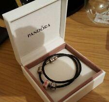 PANDORA Black Costume Bracelets