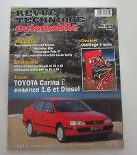 Revue technique automobile RTA 591 toyota carina e essence 1.6 & diesel