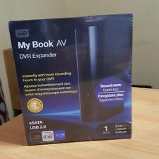 Western Digital My Book AV DVR 1TB Expander External Hard Drive - New - Unopened