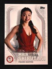 2018 Topps US Winter Olympics Base #USA-23 Maia Shibutani