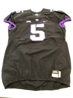 Game Worn Used Nike TCU Horned Frogs Football Jersey Texas Christian XXL #5