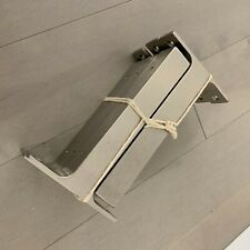 "IKEA EKBY BJARNUM 7 1/2"" Aluminum Shelf Brackets Set of 2 Model 21089"