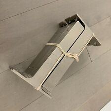 "IKEA EKBY BJARNUM 7 1/2"" Aluminum Shelf Brackets Set of 2 Model 21089"