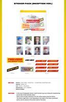 ATEEZ Zero: Fever Part 1 Official Merchandise Sticker Pack Inception Version