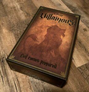 Disney Villainous: Evil Comes Prepared Family Board Game *NEW/SEALED*
