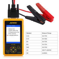 AUTOOL BT460 4'' TFT Auto Battery Tester Lead acid AGM GEL Battery Cell Analyzer