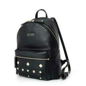 Casual Womens Pebbled Backpack One Size Bag Black Handbags Travelling Bags new