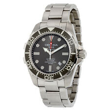 Certina DS Action Diver Automatic Grey Dial Titanium Mens Watch