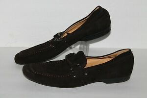 Via Spiga Studio Drivers / Casual Loafers, Brown, Leather, Men's US Size 9