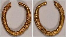 Celtic gold ring money