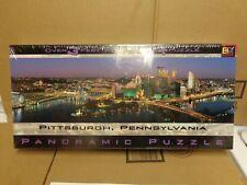 PITTSBURGH PENNYSYLVANIA 3 FOOT WIDE PANORAMIC PUZZLE BY BGI 750 PCS NEW