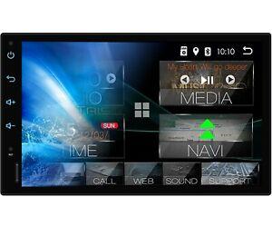 AUTORADIO mit GPS BLUETOOTH Navi Doppel 2DIN Navigation Android DAB ready