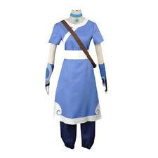 Katara Avatar The Last Airbender Girl Blue Cosplay Costume Halloween Outfit