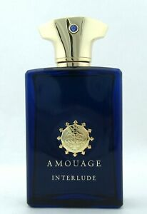 Amouage Interlude Man Cologne by Amouage 3.4oz EDP Spray for Men NO BOX with Cap
