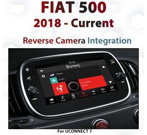 FIAT 500 2018 - Current / Reverse Camera Integration for UConnect 7