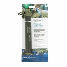 GREEN LifeStraw Water Filter PEN SURVIVAL PREPPER - OFFICIAL not CHINESE Copy!!