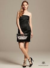 New Banana Republic Women Monogram Strapless Shine Dress Size 0