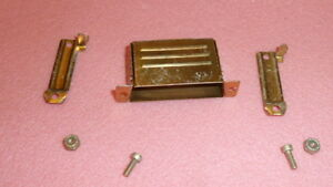 NEW 3PCS ITT DB24659 D Sub Backshell, DB, 180°, Steel Body ,25C DEEP STRT CLAMP