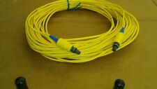 US MADE    15 m    BICONIC  to   BICONIC    single mode  fiber optic  cable
