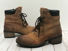 Vtg FRYE Women's Brown All Leather Short Zip Classic BOOTS ~ BEAUTIFUL! ~ 8.5M